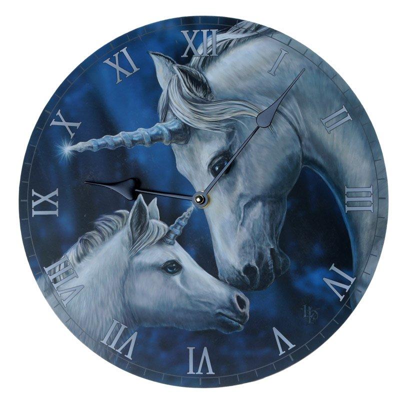 Sacred Love Unicorn Wall Clock