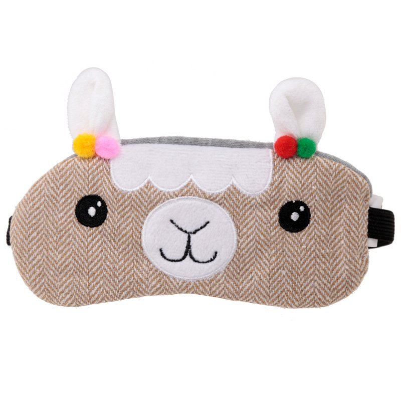 Eye Mask - Plush Llama