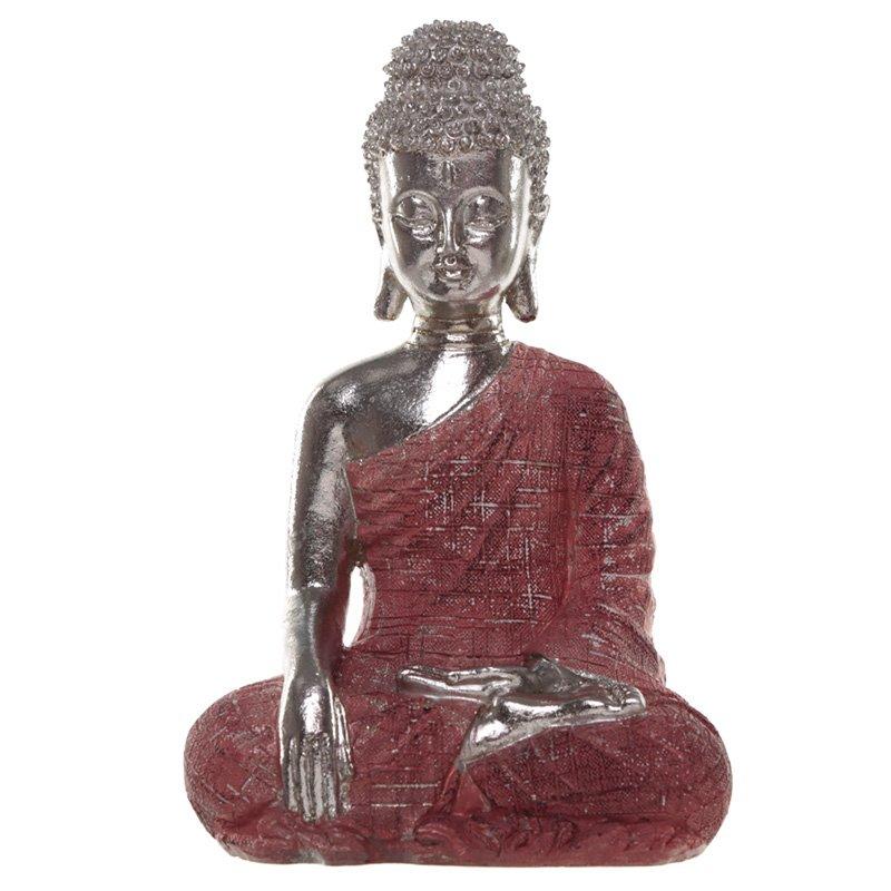 Thai Buddha Figurine - Metallic Meditation