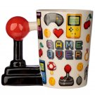 Ceramic Joystick Handle Mug