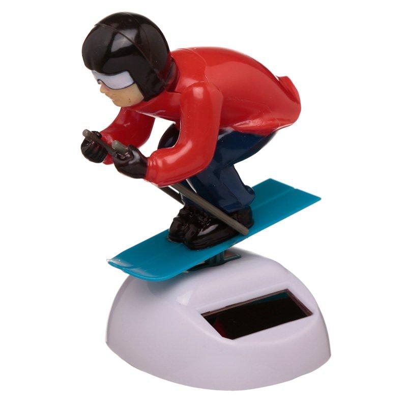 Skier Solar Powered Pal