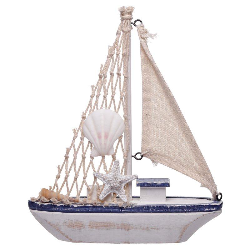 Medium Fishing Boat Nautical Decoration