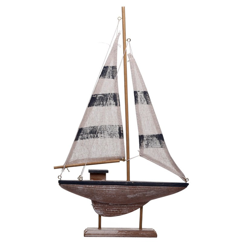 Tall Sailing Boat Nautical Decoration
