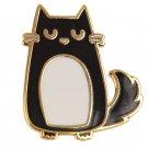 Cat Enamel Pin Badge