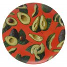 Avocado Eco Friendly Bamboo Set of 4 Plates