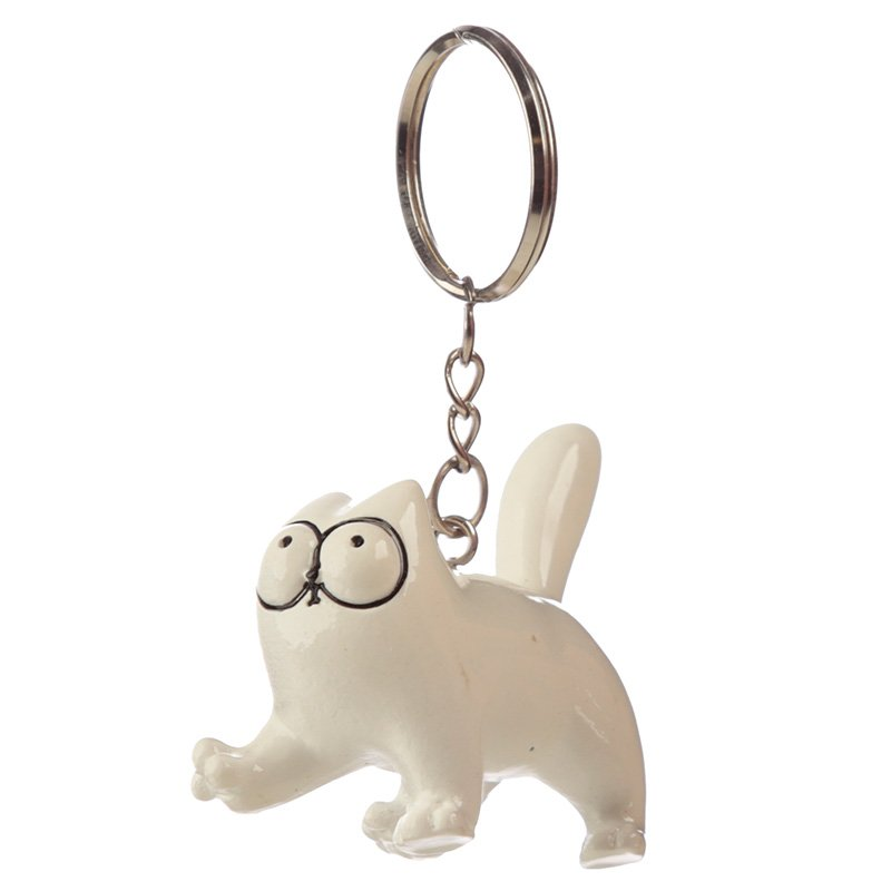 Simon's Cat Cattitude Keyring