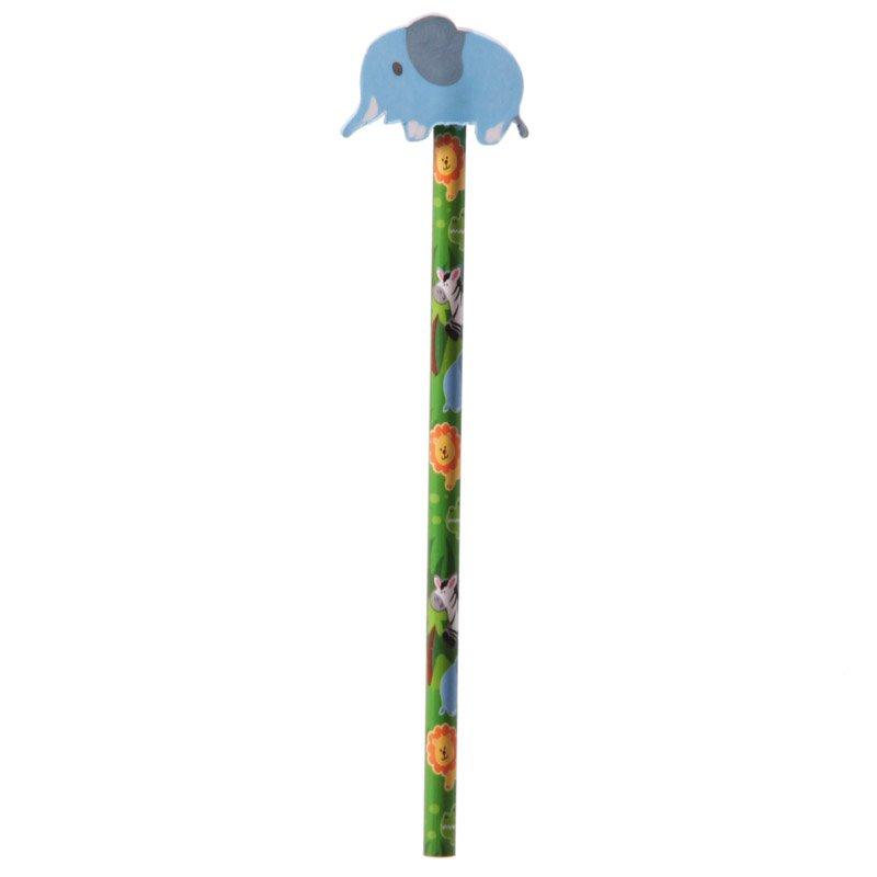 Jungle Pencil and Eraser
