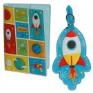 Space Cadet Luggage Tag and Passport Cover Set