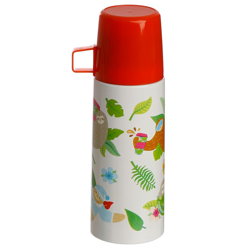 Fun 350ml Flask - Sleepy Sloth