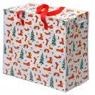 Laundry & Storage Bag - Christmas Dachshund