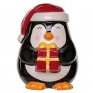 Christmas Penguin Ceramic Money Box