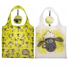 Fold Up Shaun the Sheep Shopping Bag with Holder