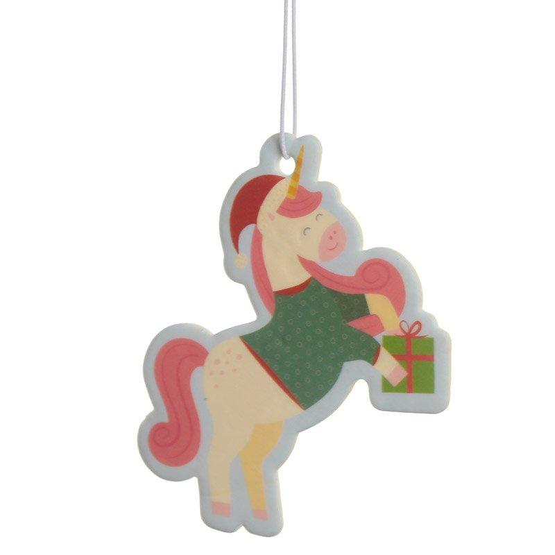 Christmas Cookie Scented Unicorn Air Freshener