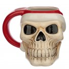 Jingle Bones Christmas Skull Ceramic Mug
