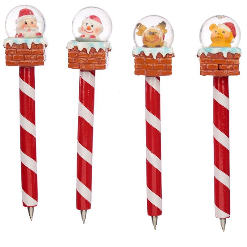 Christmas Waterball Pen