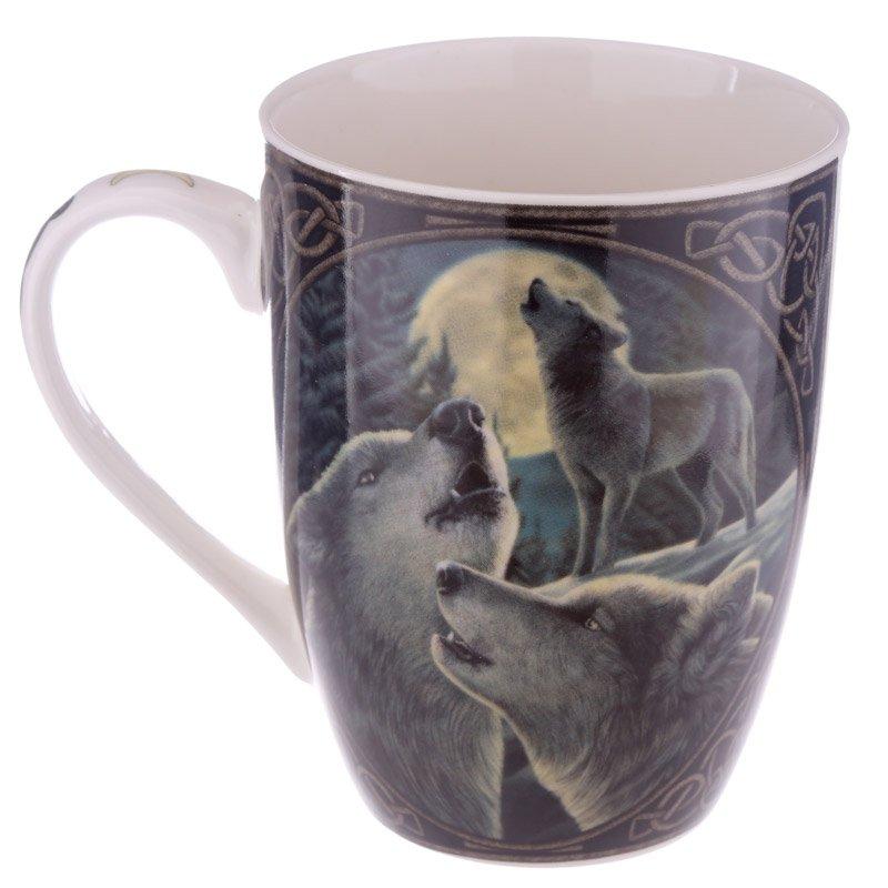 Bone China Wolf Song Mug