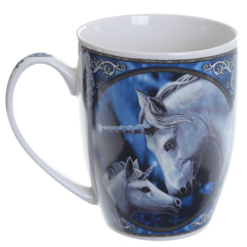 Bone China Mug - Unicorn and Foal