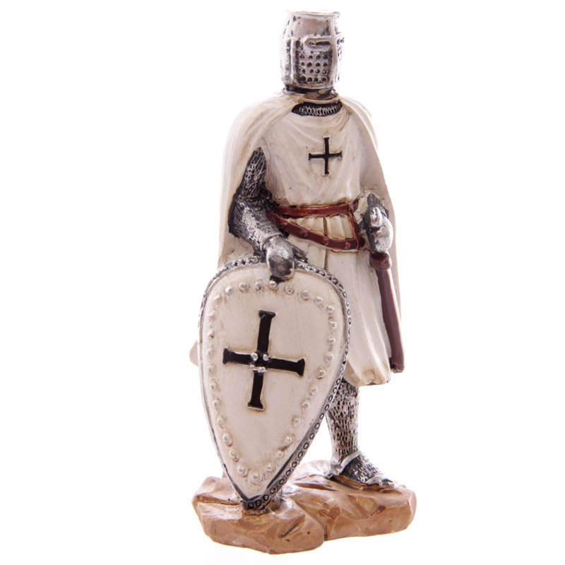 Crusader Knight Figurine