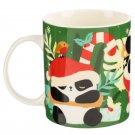 Christmas Bone China Mug - Panda