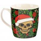 Christmas Bone China Mug - Santa Bones Skull