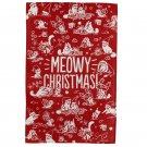Simon's Cat Meowy Christmas Tea Towel