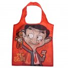 Fold Up Mr Bean Shopping Bag with Holder