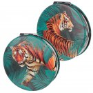 Compact Mirror - Big Cat Spots and Stripes