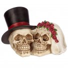 Gothic Bride and Groom Skull