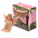Mini Garden Flower Fairy Figurine in a Gift Bag