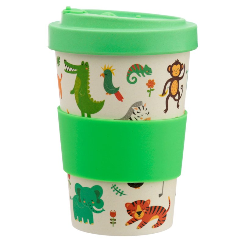 Eco Friendly Zooniverse Screw Top Travel Mug