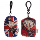 Plush Mr Bean Sound Keyring (Assorted)