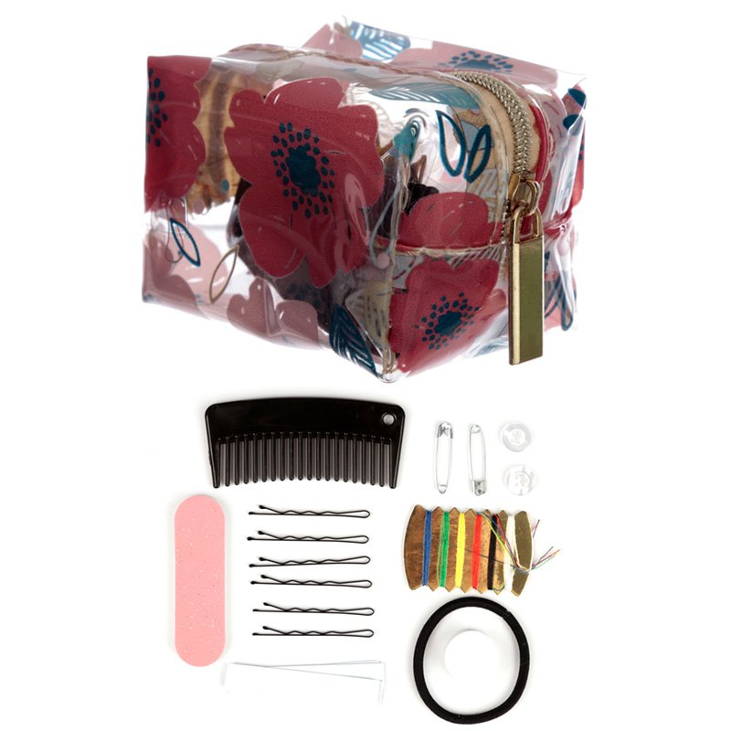 Emergency Travel Kit - Poppy Fields