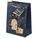 Feline Fine Christmas Cat Design Medium Gift Bag