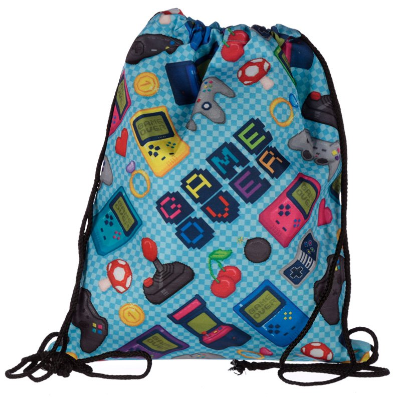 Drawstring Bag - Gaming Design