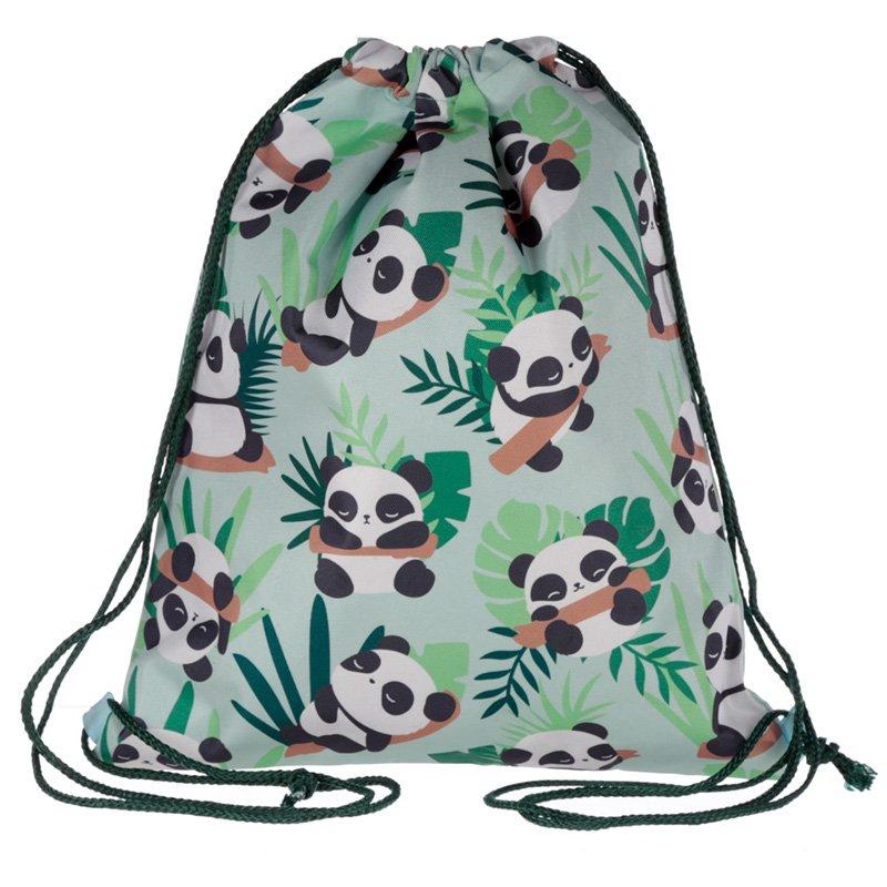 Drawstring Bag - Panda