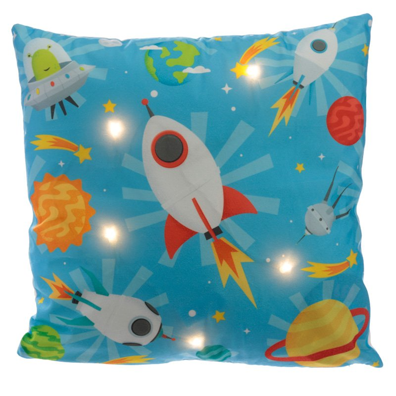 LED Cushion - Retro Space Cadet