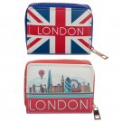 Small Zip Around Wallet - London Icons (Assorted)