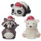 Flavoured Lip Balm - Christmas Panda, Bear or Raccoon