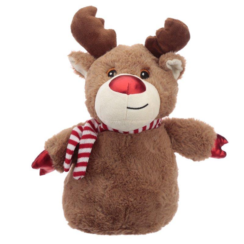 Christmas Reindeer Plush Door Stop