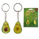 Set of 2 Avocado Keyrings