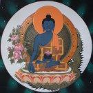 Medicine Buddha Original Hand-painted Tibetan Thangka Thanka Tanka