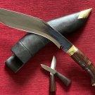 GENUINE GORKHA WORLD WAR II OFFICIAL KHUKURI KHUKRI KUKRI KNIFE 11 INCH