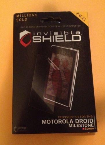 Zagg Invisible Shield Motorola Droid Milestone Military Specs Screen Protector