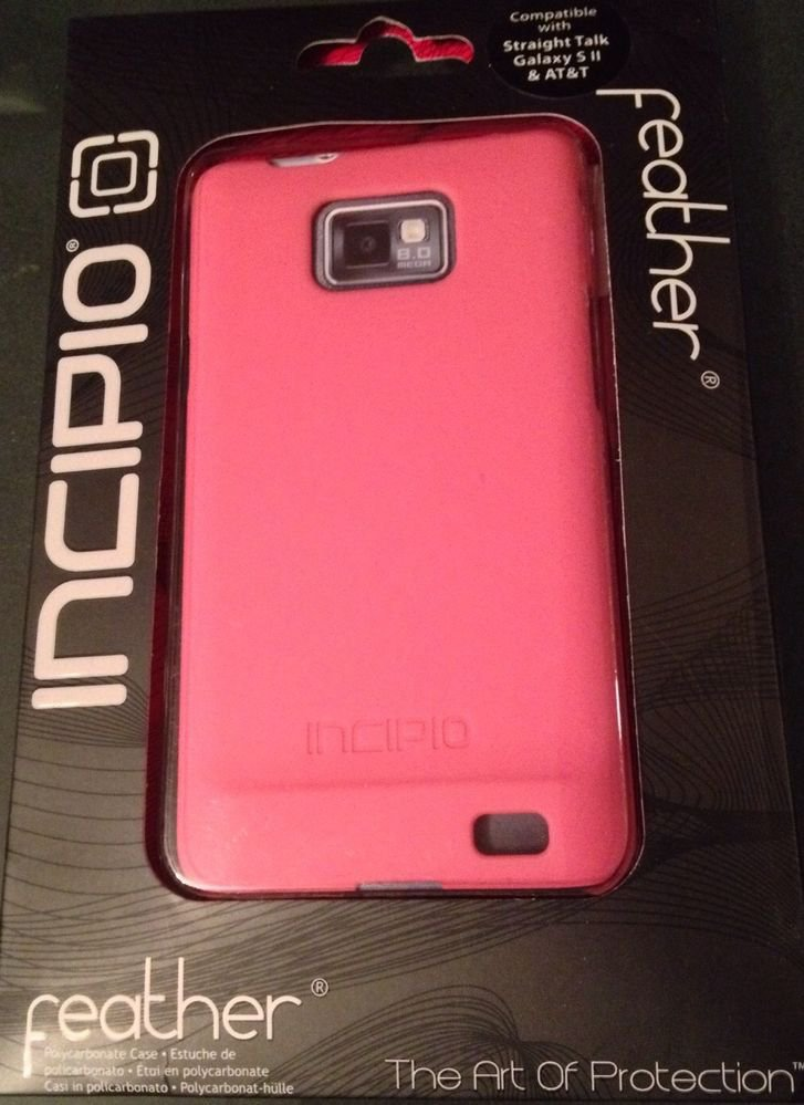 Incipio Feather Case Cover Samsung Galaxy SII S2  Hard Shell Case Pink
