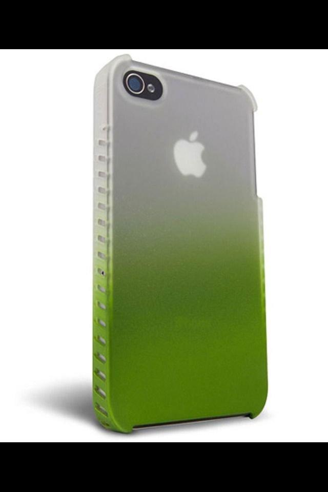 iFrogz Luxe Lean Slim Case apple iPhone 4 4S  Slate / Frost  &  Green / Frost