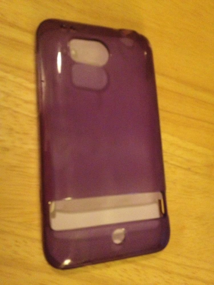 RocketFish HTC Thunderbolt Soft Shell Case  Purple