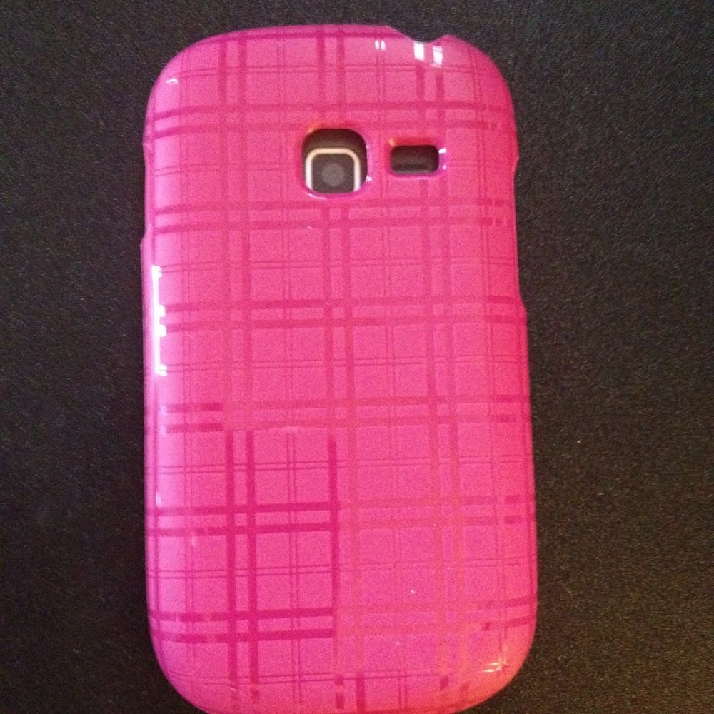 Body Glove Samsung Galaxy Centura Grasp Case SCH-S738C  Pink Plaid  &  Black