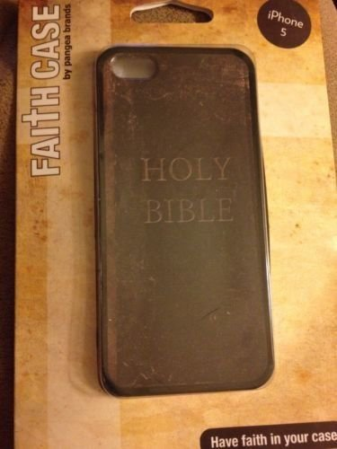 iPhone 5 5S Holy Bible Hardshell Case  Faith Case  Pangea Brands