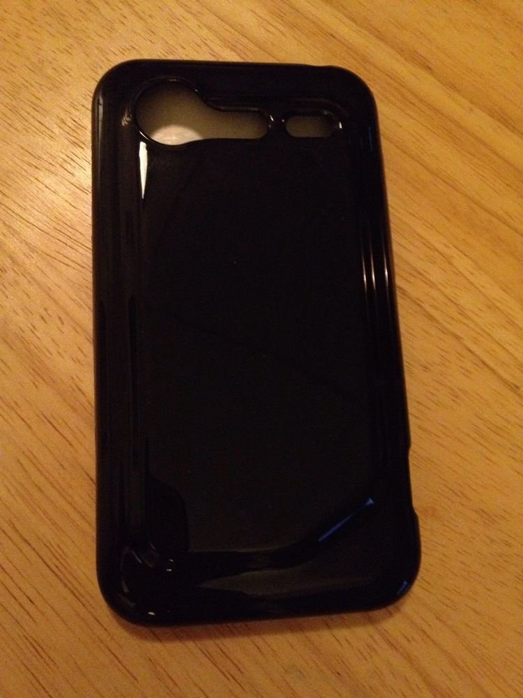 RocketFish Mobile Soft Shell Case for HTC Droid Incredible 2 (RF-CHVT2BPM) Black