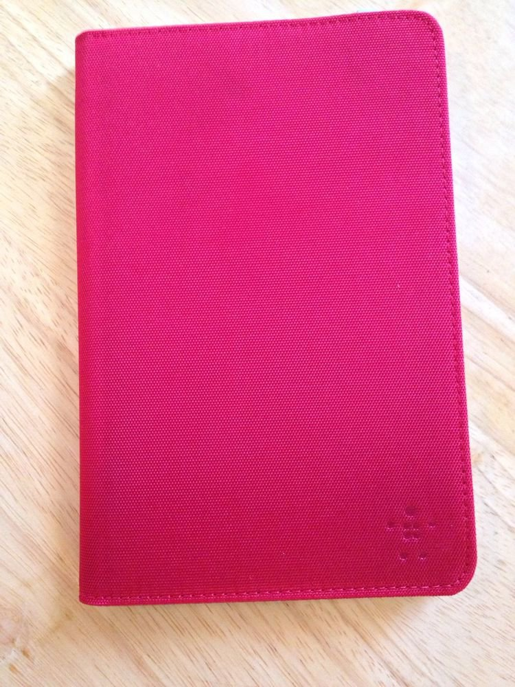 "Belkin 7"" Tablet Case Cover  Red   Universal"